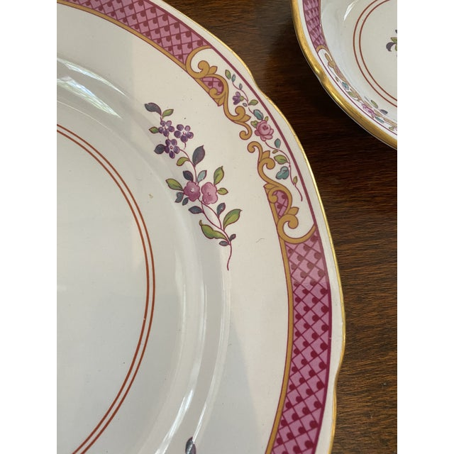 Late 20th Century Spode China Lord Calvert Pattern Service for 8 Dinnerware - 60 Piece Set For Sale - Image 5 of 12