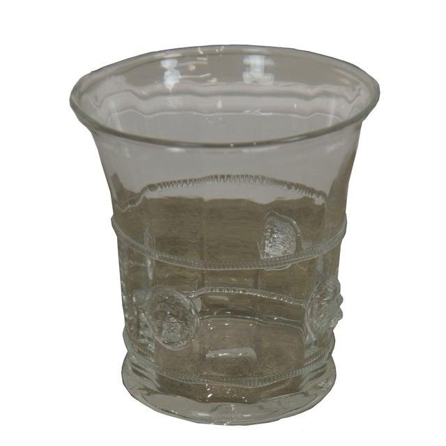 Abigails Czech Republic Lion Head Glass Ice Bucket For Sale - Image 13 of 13