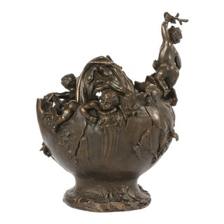 Early 20th Century Bronze Decorative Centerpiece For Sale