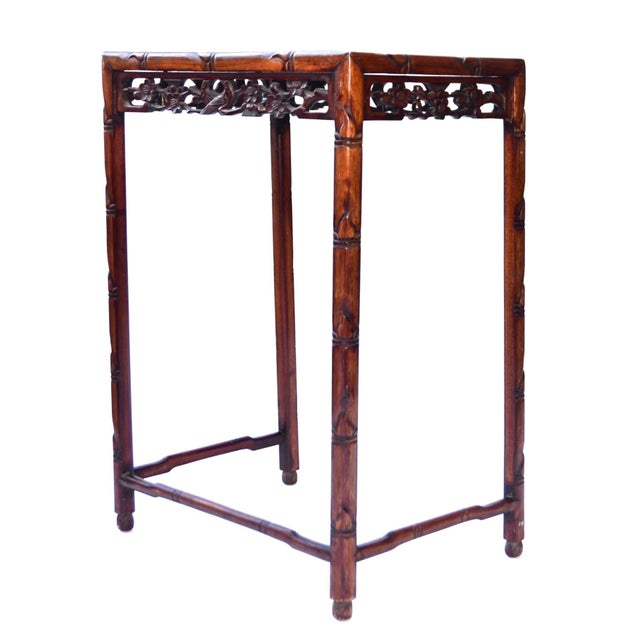 Asian Chinese Side Table Qing Dynasty 19th C For Sale - Image 3 of 10