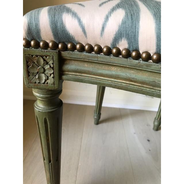 Vintage Louis XVI Side Chairs - a Pair For Sale In Tampa - Image 6 of 8