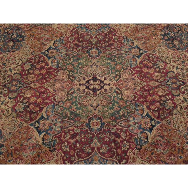 KARASTAN Approx 8 x 10 Kirman Room Size Rug Age: Approx: 30 Years Old Details: High Quality Construction Full Original...