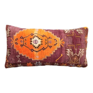 Turkish Carpet Lumbar Pillow