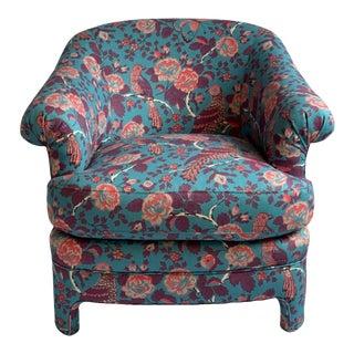 "Sasha Accent Chair in Schuyler Samperton's ""Caledonia"" For Sale"