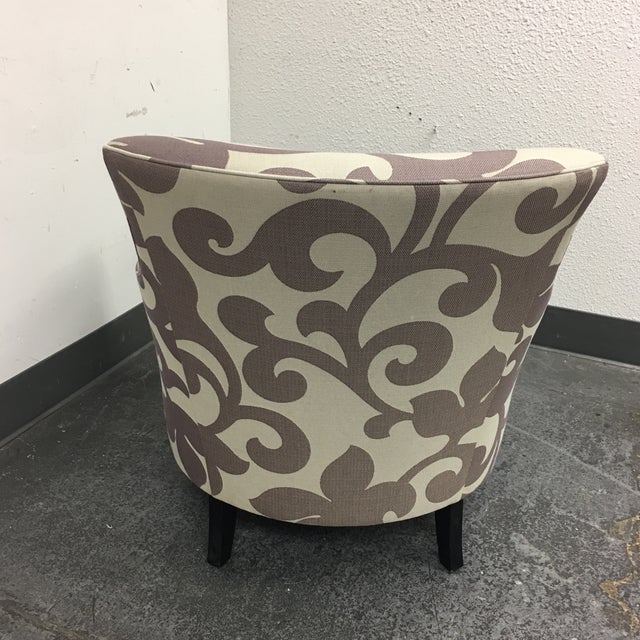 Custom Clara Accent Chair from Crate & Barrel - Image 5 of 7