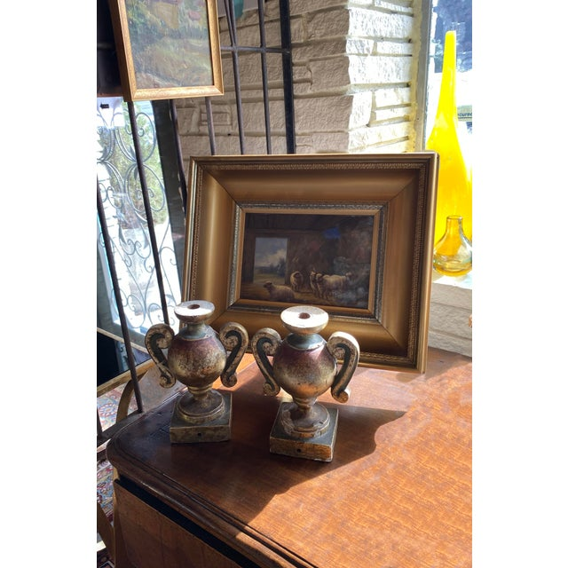Wood 19th Century Porta Palma - a Pair For Sale - Image 7 of 9
