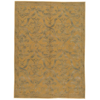 "21st Century Transitional Nepalese Rug, 8'10"" X 12'2"". For Sale"