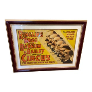 Original Ringling Brothers & Barnum & Bailey Circus Poster For Sale