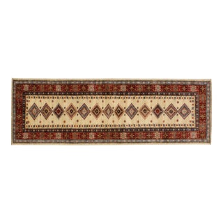 "Leon Banilivi Beige Super Kazak Runner - 2'1"" x 6'3"" For Sale"