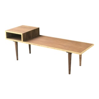 Custom Mid Century Style Coffee Table For Sale