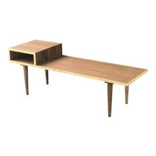 Custom Mid Century Style Coffee Table