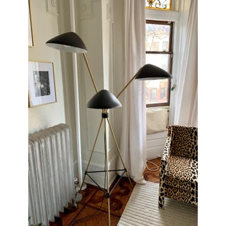 Curvilinear Mid-Century 3-Light Floor Lamp Preview