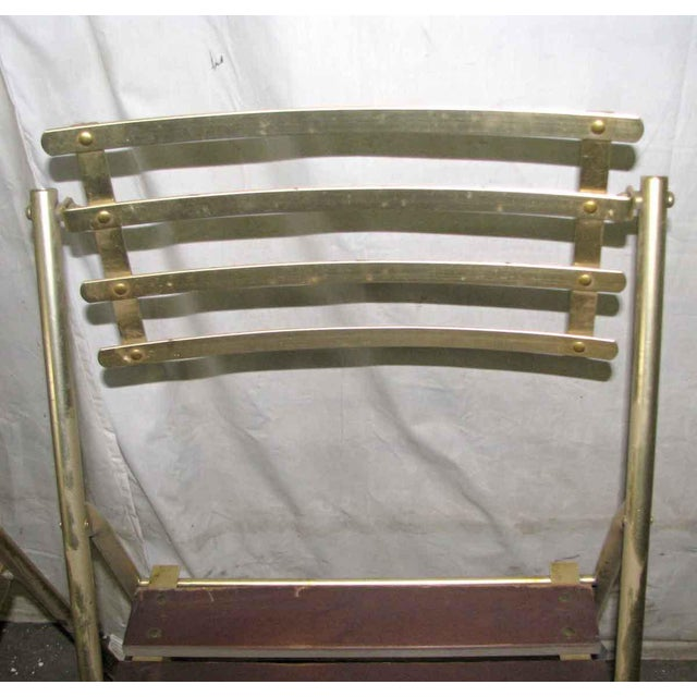 Mid-Century Modern Folding Chair For Sale - Image 4 of 10