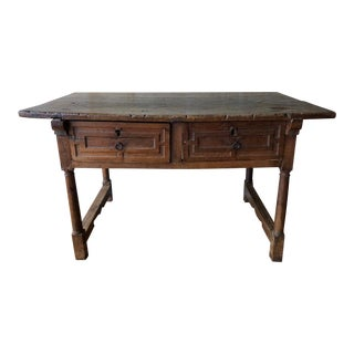 Italian Antique Side Table For Sale