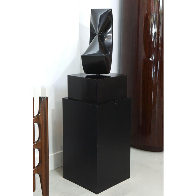 Marble Sculpture on Stand by Masami Kodama, Japan, 1960 For Sale In Miami - Image 6 of 11