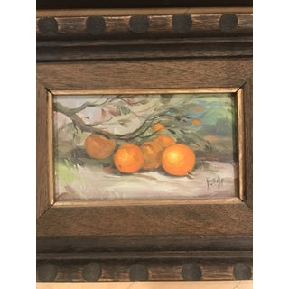 Vintage Fruit Still Life Paintings in Wooden Frames - a Pair Preview
