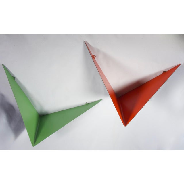 Green Vintage Mid-Century Poul Cadovius Butterfly Shelves - A Pair For Sale - Image 8 of 8