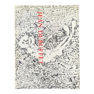 1st Edition 1973 Jean Dubuffet Guggenheim Retrospective Exhibition Art Book