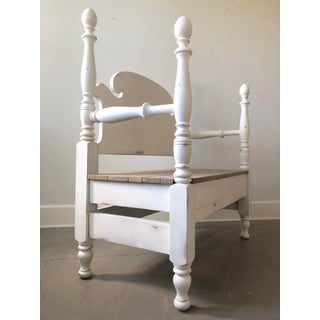 1950s Vintage Custom Bed Bench Preview