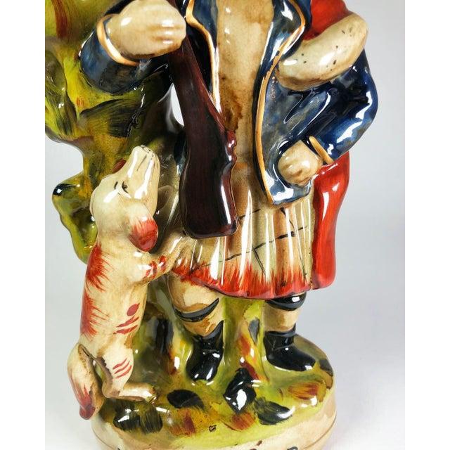 1980s Scottish Highlander Victorian Spill Vase For Sale - Image 5 of 7