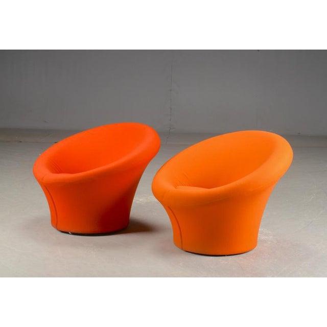 """Pierre Paulin for Artifort pair of model """"Mushroom"""" arm chairs."""