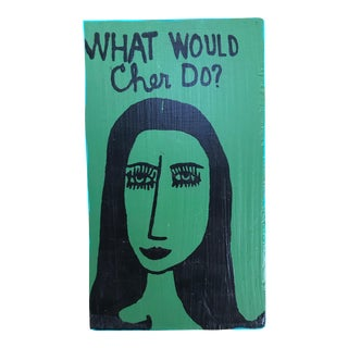 What Would She Do? Contemporary Painting For Sale