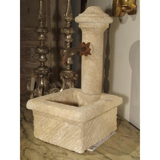 A Small Provence France Carved Limestone Fountain Preview