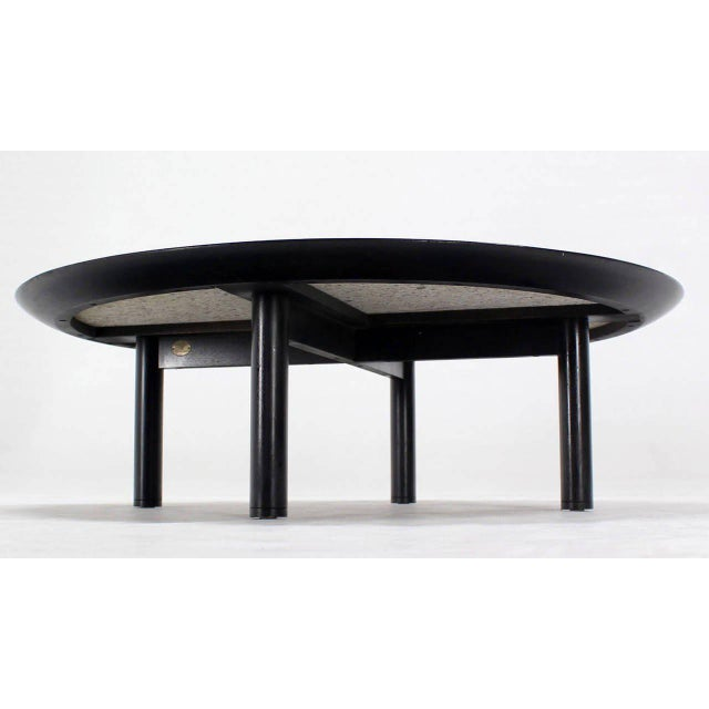 Incredible 48 Inches Round Mid Century Modern Coffee Table