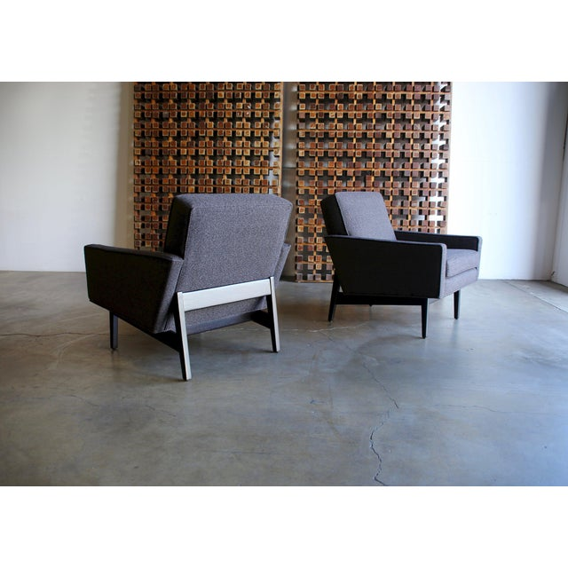 Mid 20th Century Mid Century Jens Risom Lounge Chairs - a Pair For Sale - Image 5 of 12