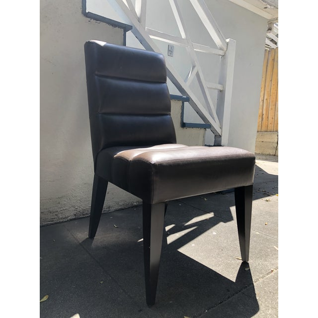 Contemporary Dakota Jackson Side Chair For Sale - Image 3 of 9
