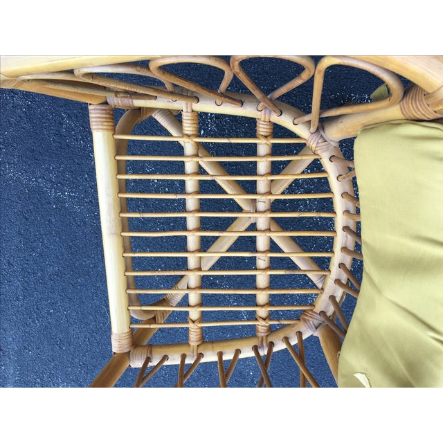 Vintage Ficks & Reed Rattan Barrel Chairs - 4 - Image 9 of 11