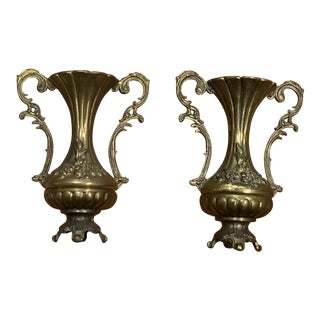 French Bud Vases - a Pair For Sale