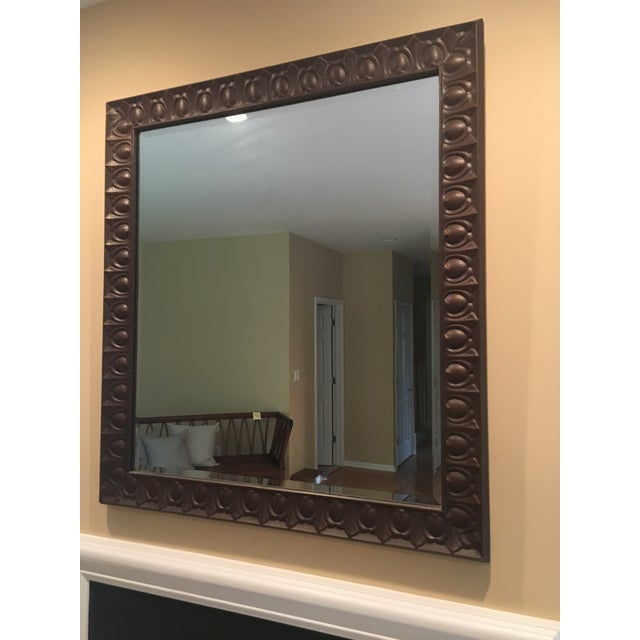 Gorgeous Tin Mirror Makes great stylish addition to any room. Tin is a beautiful rich brown color! Tin comes from an old...