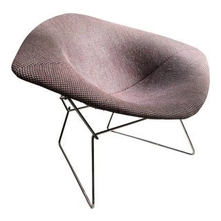 1970s Mid Century Modern Harry Bertoia for Knoll Diamond Lounge Chair