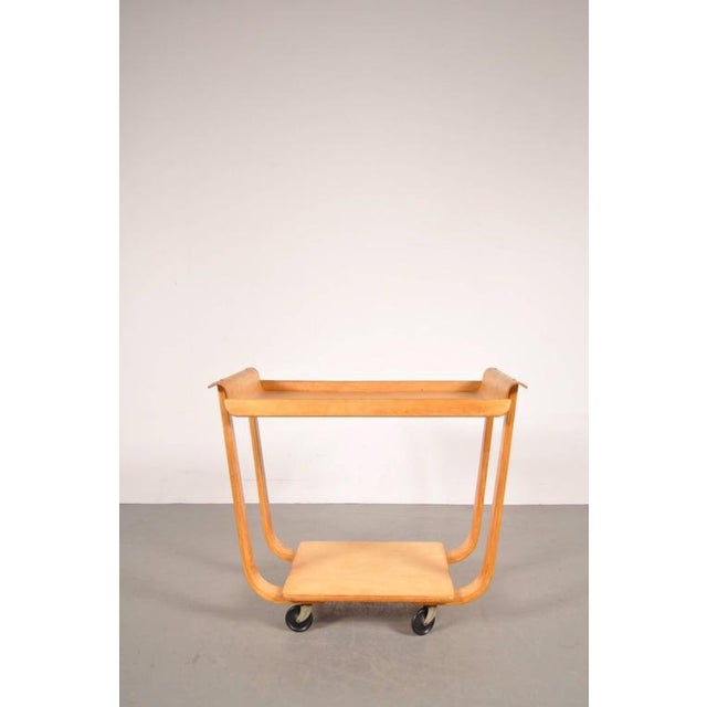 PB01 Trolley by Cees Braakman for Pastoe, Netherlands, circa 1950 - Image 4 of 6