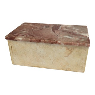 1980's Marble Box For Sale
