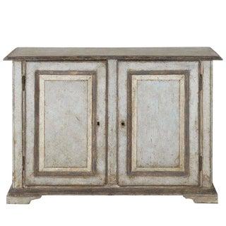 19th Century Italian Abruzzo Two-Door Buffet in Original Paint For Sale