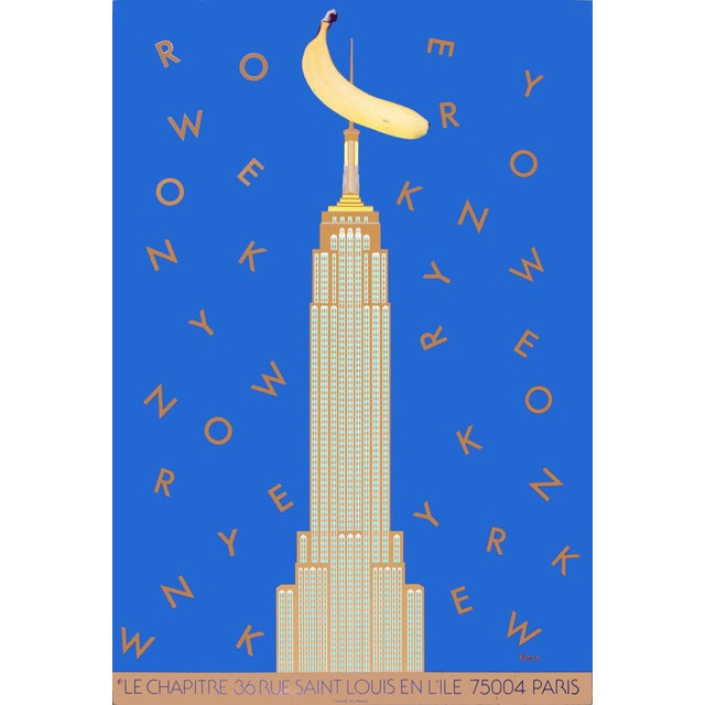 1984 Razzia New York and King Kong Poster - Image 1 of 3