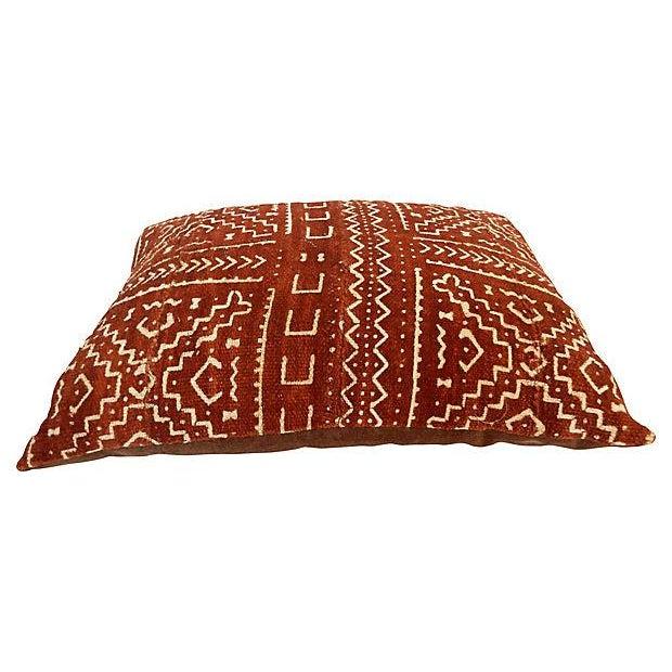 Malian Mud Cloth Pillow - Image 6 of 6