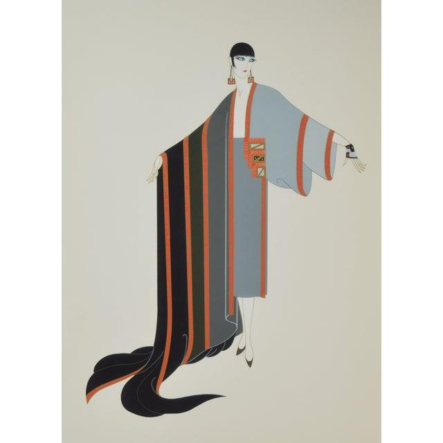"Erté (Romain de Tirtoff) (Russian, 1892-1990) ""Michelle"", 1980, Limited Edition Screenprint in colors on wove paper..."