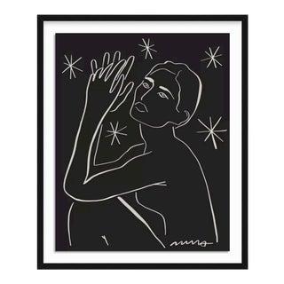 Amandine Print Black L For Sale
