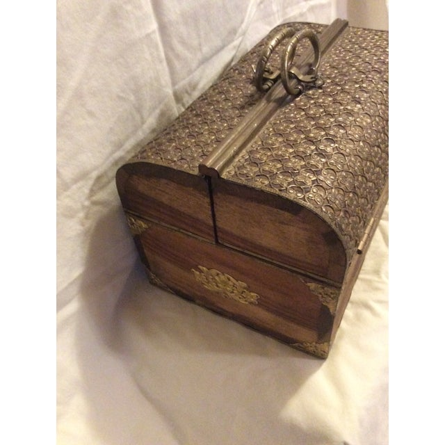 Handmade Indian Bridal Box For Sale - Image 5 of 9