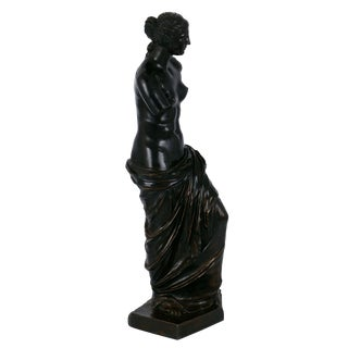 "French Grand Tour Antique Bronze Sculpture ""Venus De Milo"" For Sale"