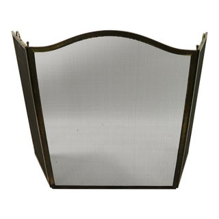 1930s Folding Fireplace Screen For Sale