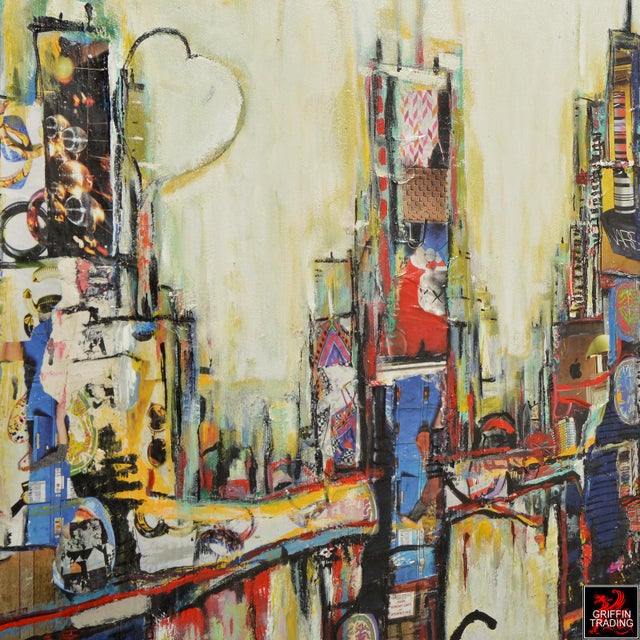 Chicago Cityscape Collage Artwork For Sale - Image 4 of 6
