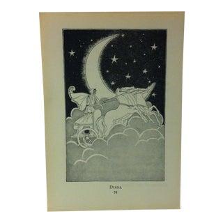 "1927 ""Diana"" Across the Rainbow Bridge Print For Sale"