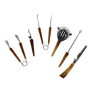 Vintage Bartender Tools, Set of 6 For Sale