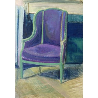 Kei Mitsuuchi, French Interior Chaise For Sale