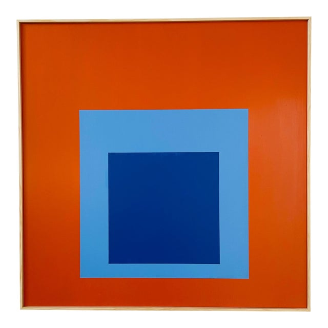 Contemporary Minimalist Painting, Framed For Sale