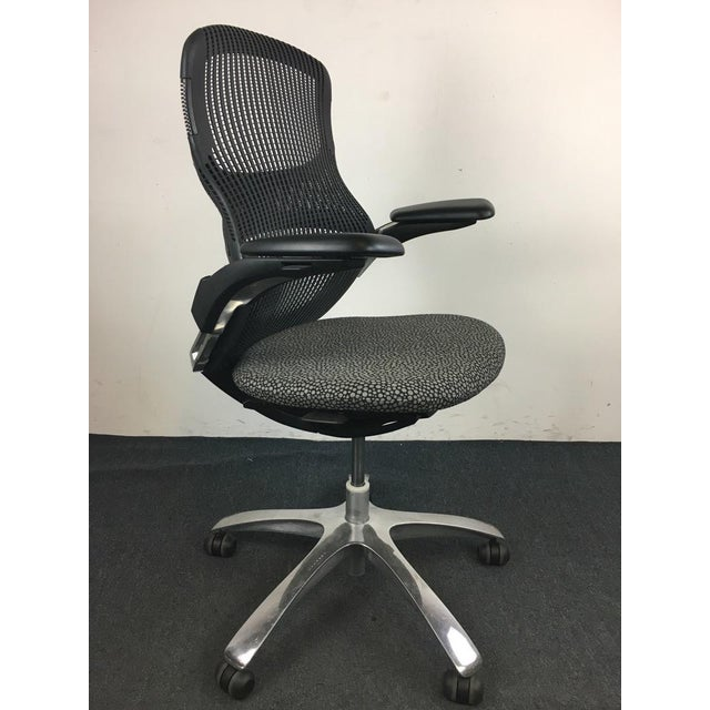 Knoll 'Generation' Metal & Plastic Office Chair - Image 3 of 8